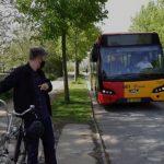 2-årigt forsøg med cykler i almindelige busser